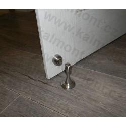 Pevná kovová konzole Rustik 200 x 200 mm s výstuží, černá