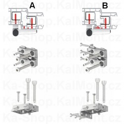 Kabelová vývodka Skintop STR, M50, 22 - 29 mm,  IP68 šedá