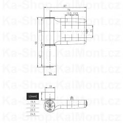 Kabelová vývodka ATEX 6082X Ex e II M32 / 16 - 25 mm